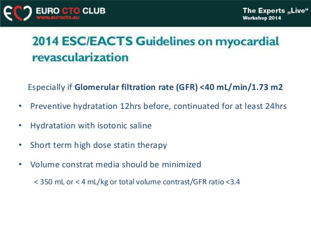 contrast induced nephropathy guidelines 2014