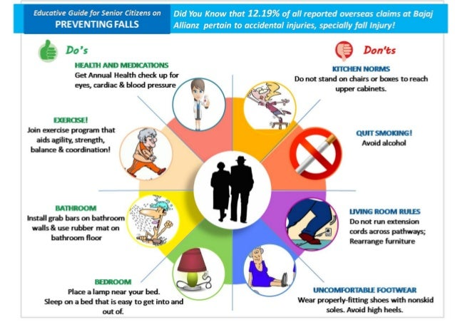How to Prevent a Fall - Senior Safety Tips