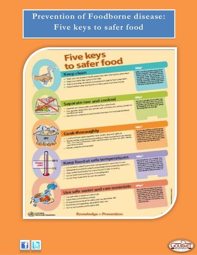 Prevention of Foodborne disease:Five keys to safer food