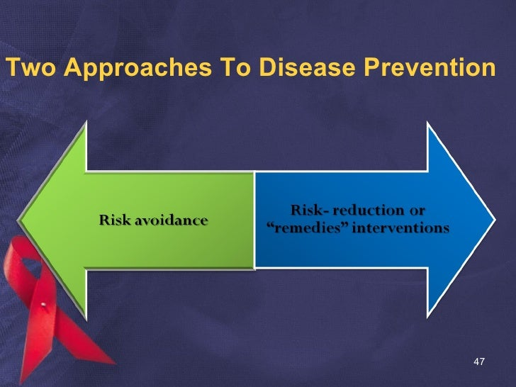 Two Approaches To Disease Prevention