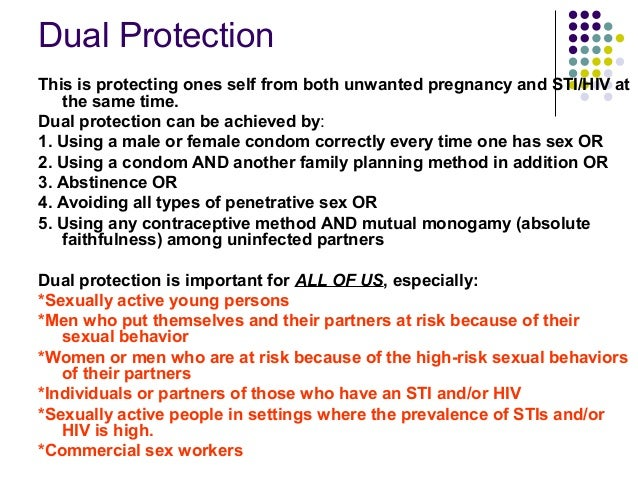 Prevention of hiv transmission