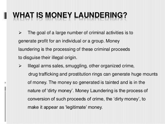 """money laundering act Congress is considering a new draft bill, the counter terrorism and illicit finance act (""""ctifa""""), currently in committee in the senate the ctifa proposes the."""