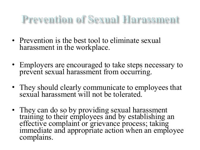 How to prevent sexual harassment picture 62