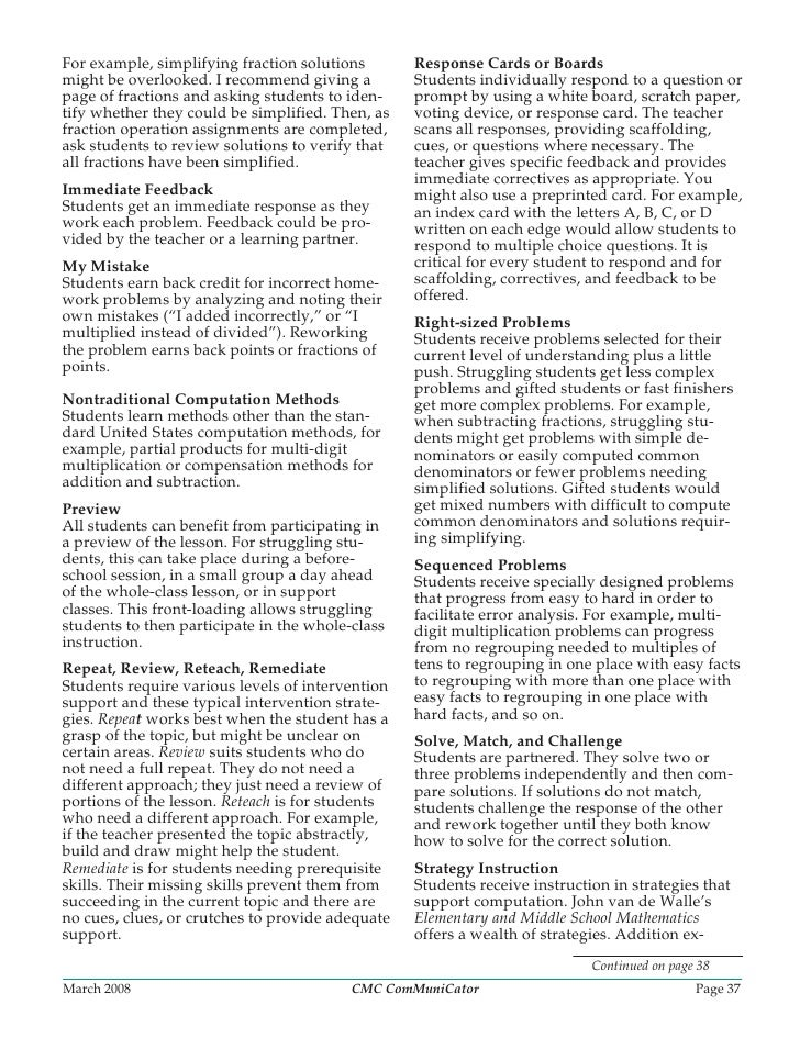 Page 36 CMC ComMuniCator Volume 32 Number 3