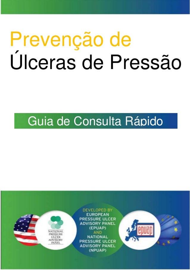 Prevenção de Úlceras de Pressão Guia de Consulta Rápido