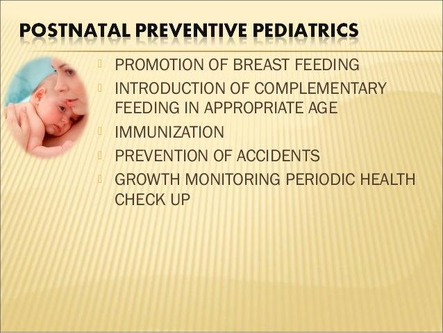 Preventive Pediatrics