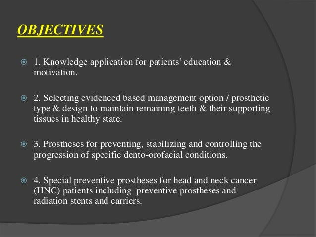 copy of preventive prosthodontics Dental specialties treats complex dental problems, tmj, gum disease and oral pain, and provides dental implants, as well as teeth restoration and replacement.