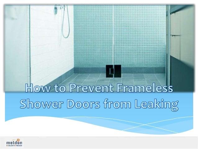 Shower Sealing Panel To Avoid Leaking Of Water