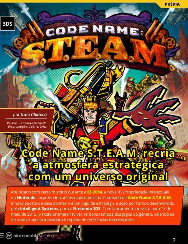 nintendoblast.com.br Code Name S.T.E.A.M. recria a atmosfera estratégica com um universo original por Italo Chianca Revisã...