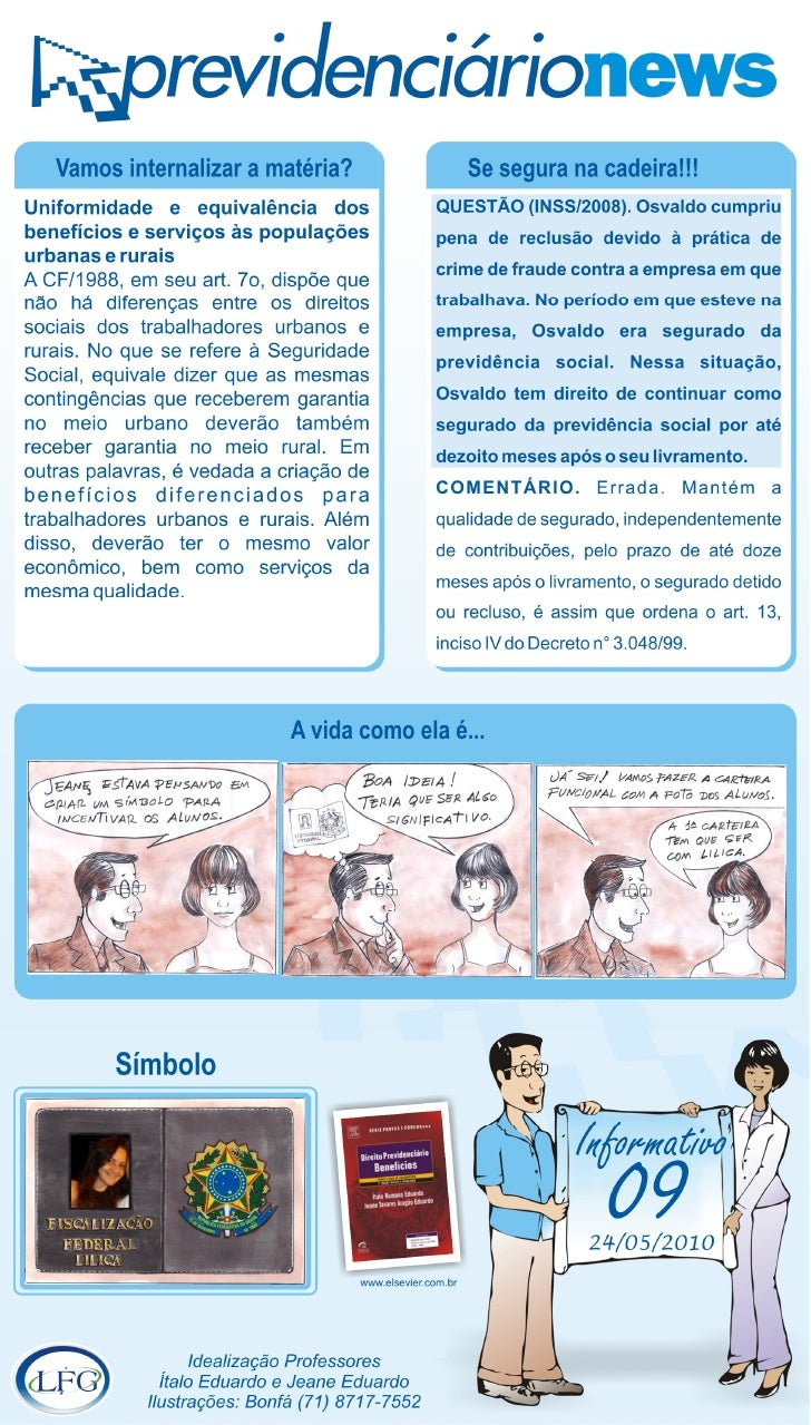 Previdenciário Notícias 09