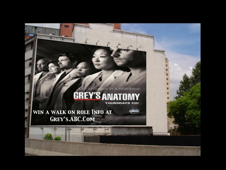 Grey\'s Anatomy Marketing Plan