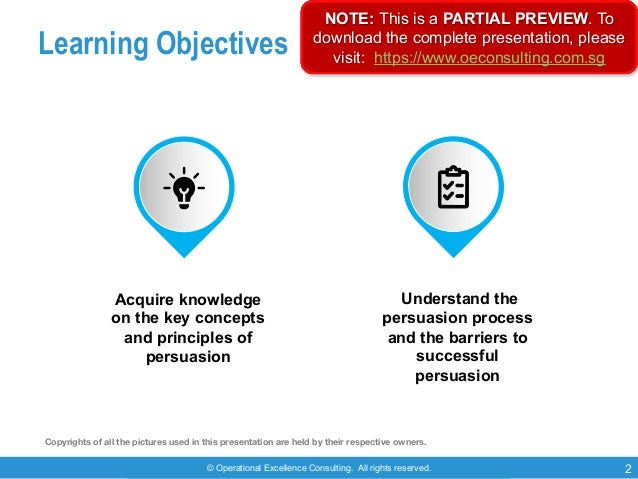 © Operational Excellence Consulting. All rights reserved. 2 Learning Objectives Acquire knowledge on the key concepts and ...