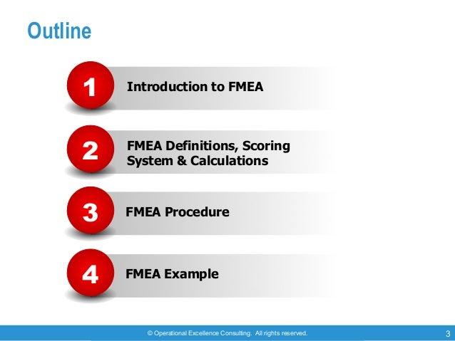Failure Mode & Effects Analysis (FMEA) Slide 3