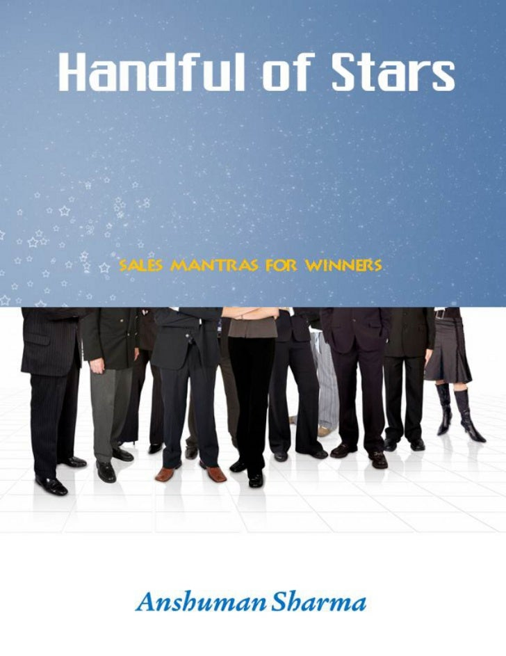 Title Page             Handful of Stars              Sales Mantras for Winners                    Anshuman Sharma
