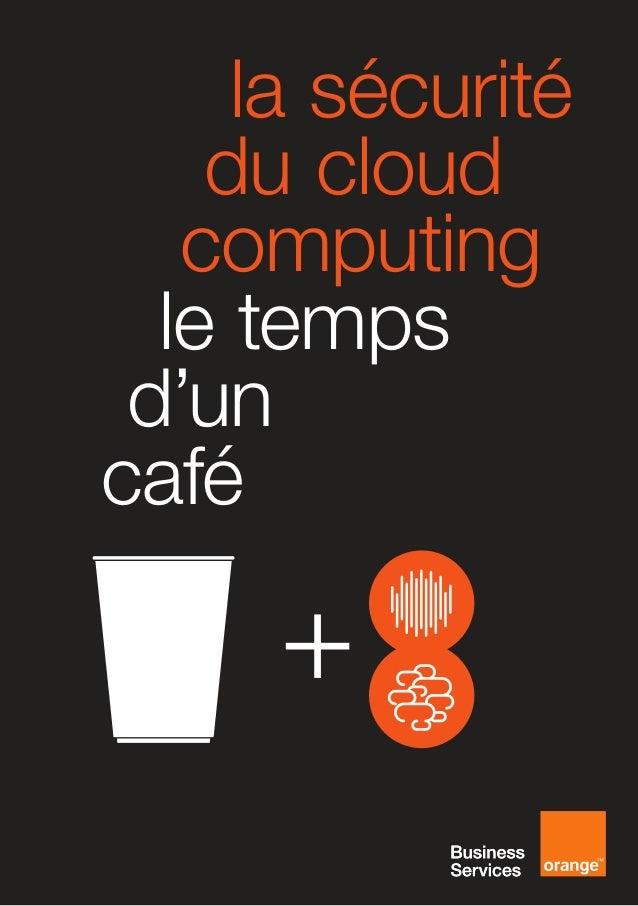 [FR] la sécurité du cloud computing le temps d'un café preview