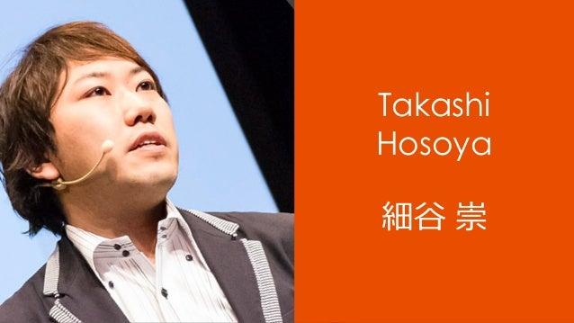Takashi Hosoya 細⾕ 崇