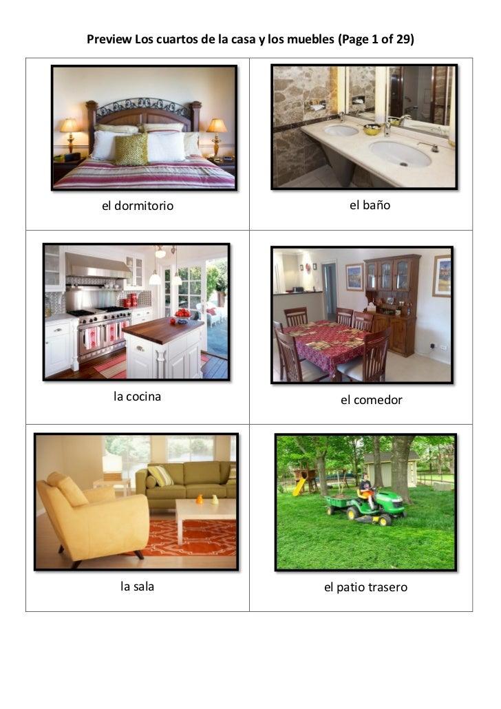 Preview los cuartos de la casa y los muebles for Muebles de la casa