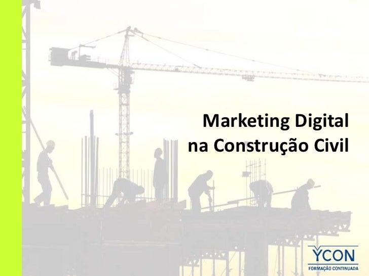 Marketing Digitalna Construção Civil