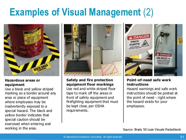 visual work instruction template - 8d problem solving by operational excellence consulting