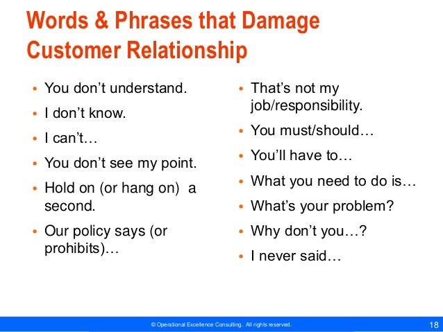 Excellent Customer Service Phrases Hatch Urbanskript Co
