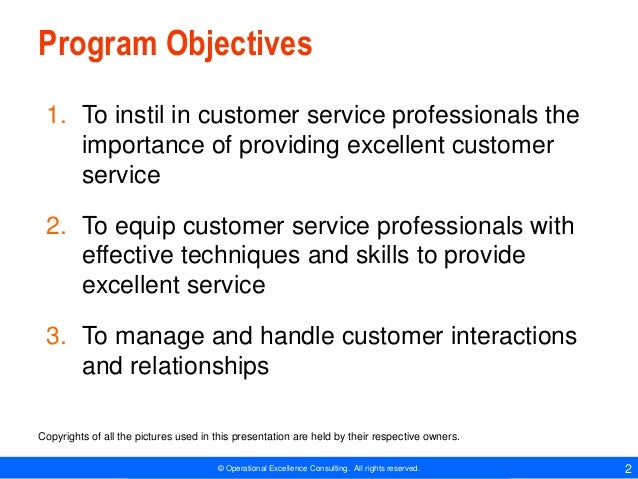 Customer Service Essentials by Operational Excellence Consulting Slide 2