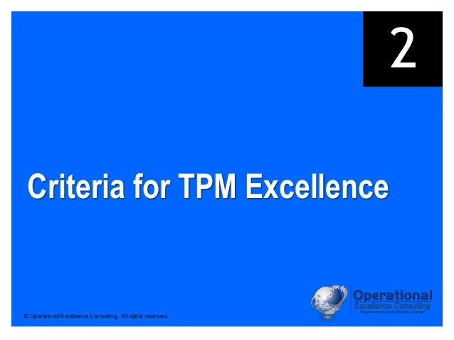 tpm operational excellence Operational excellence online shop tpm, lean, six sigma  operational  excellence and performance management online shop.