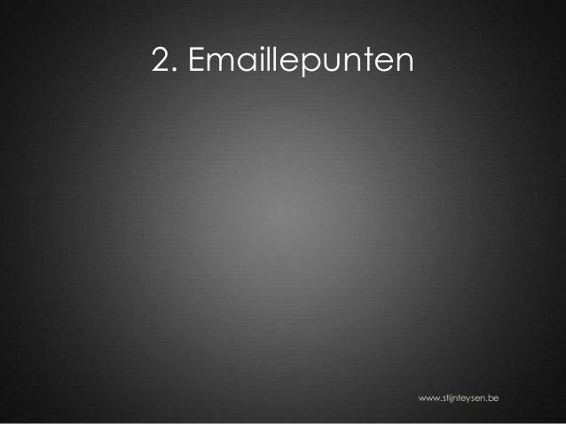 2. Emaillepunten www.stijnteysen.be