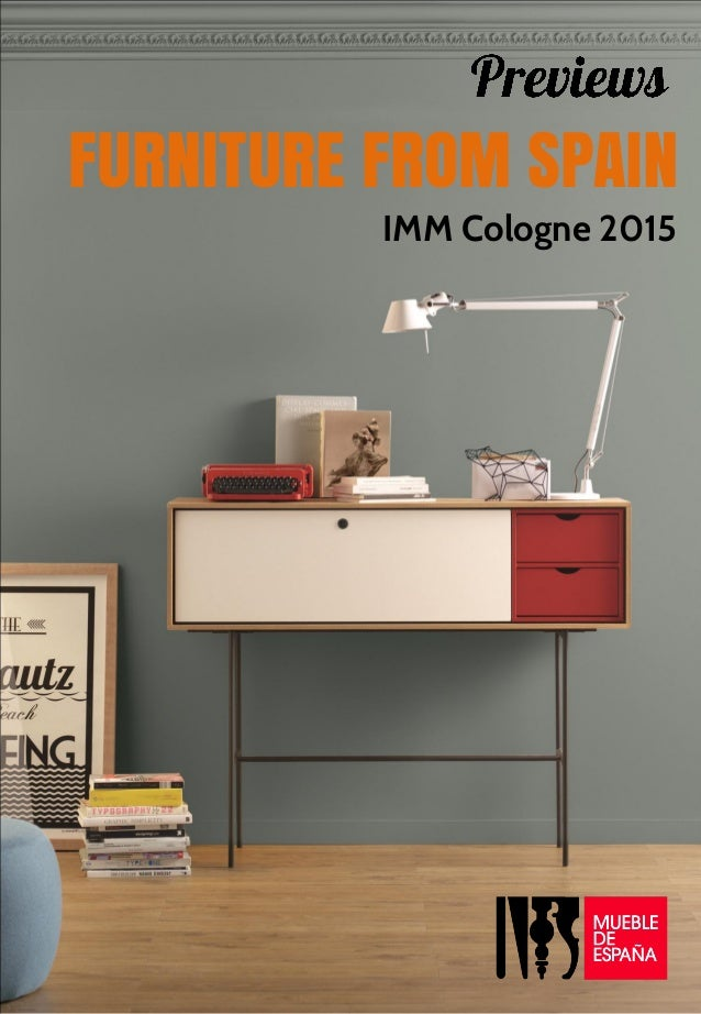 previews imm cologne 2015 design furniture from spain. Black Bedroom Furniture Sets. Home Design Ideas