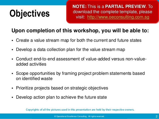 Value Stream Mapping by Operational Excellence Consulting Slide 2