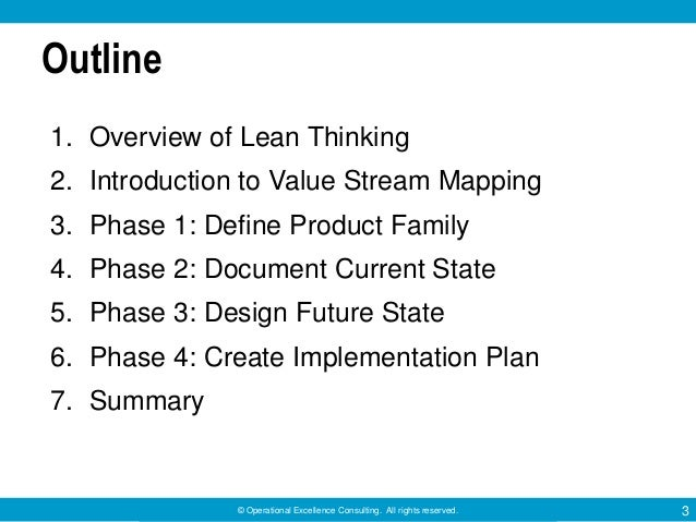 Value Stream Mapping by Operational Excellence Consulting Slide 3