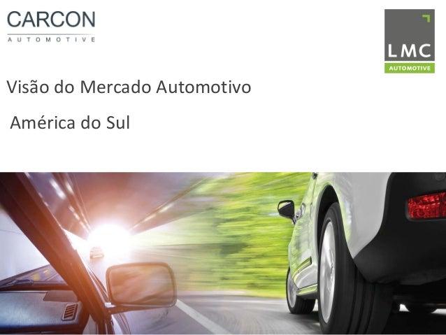 Visão do Mercado Automotivo América do Sul