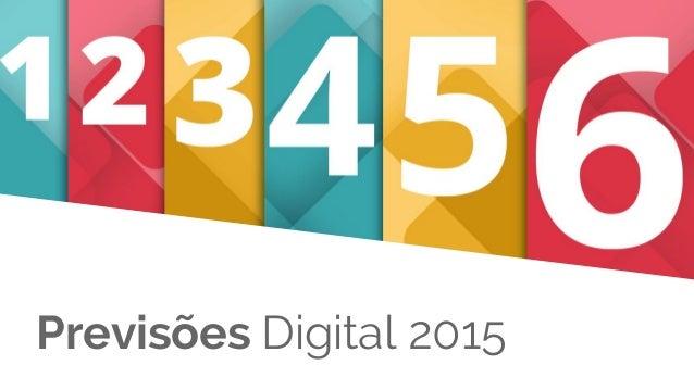 Previsões Digital 2015