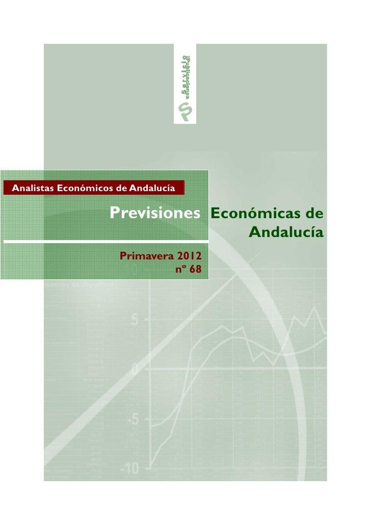 Analistas Económicos de Andalucía                   Previsiones Económicas de                                      Andaluc...