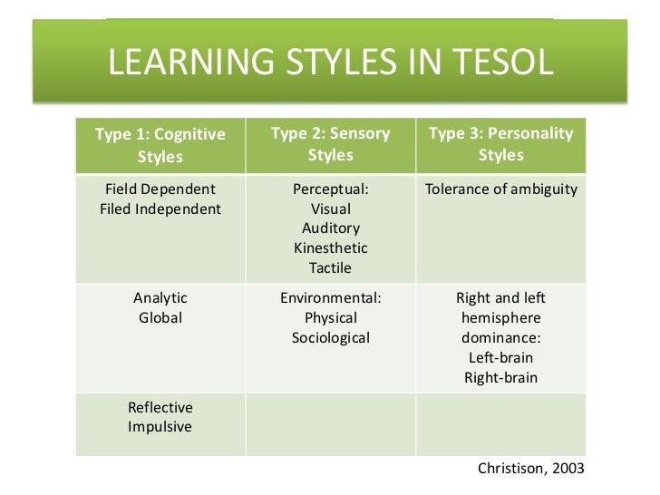 kolb learning styles essay