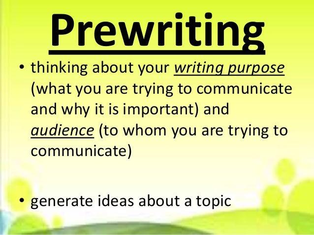 Prewriting strategies for reflective essay