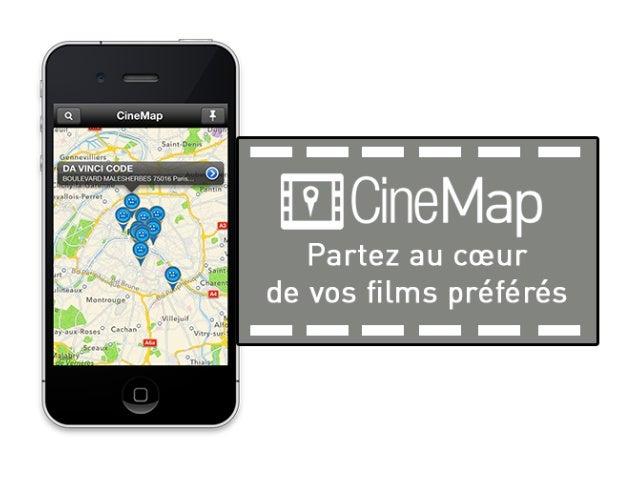 Cinémap - BeMyApp Open Tourisme