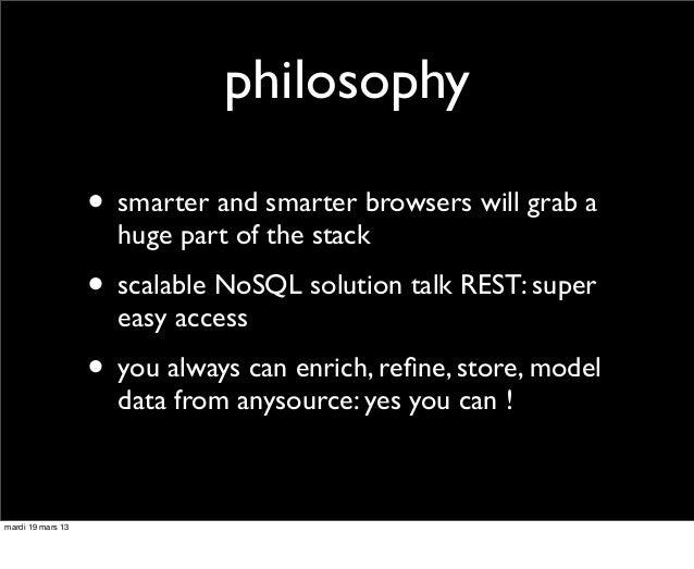 dataviz on d3.js + elasticsearch Slide 3