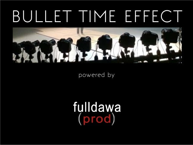 BULLET TIME EFFECT  powered by