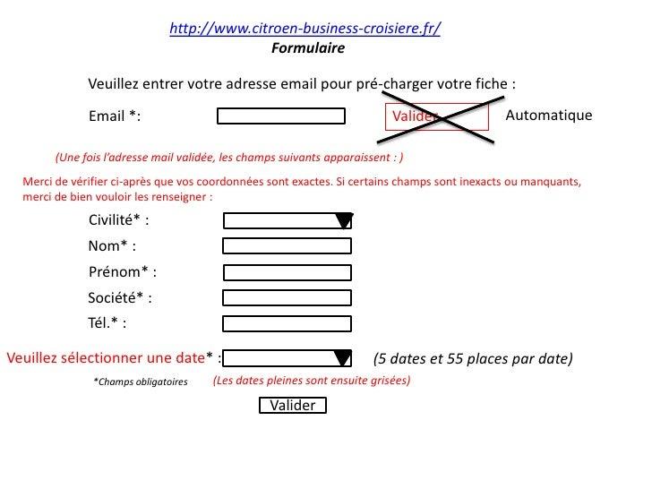 http://www.citroen-business-croisiere.fr/<br />Formulaire<br />Veuillez entrer votre adresse email pour pré-charger votre ...