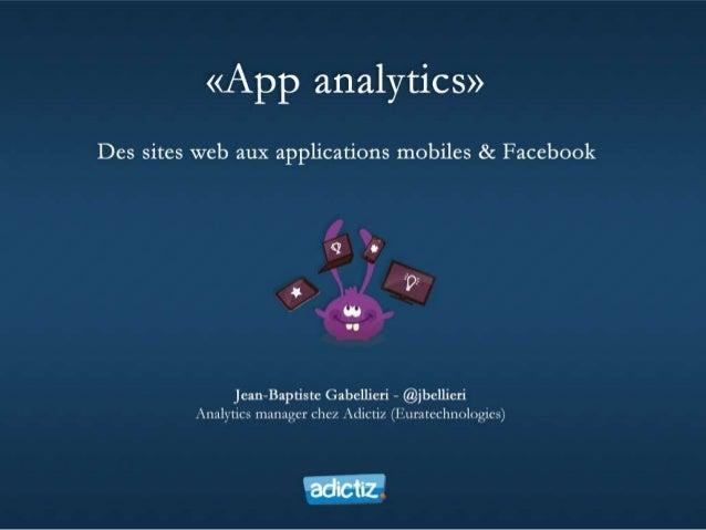 Applications : il n'y a pas que le mobile ! Valorisation du Hardware par le Software Maîtriser la distribution des contenu...