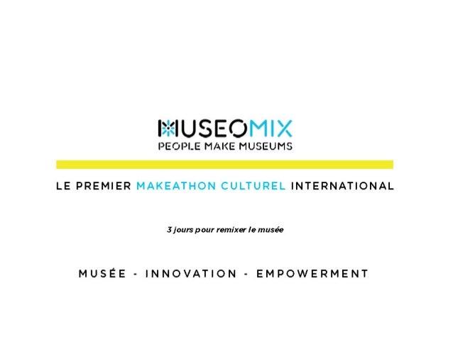 Présentation Léman Museomix 2015 Slide 2