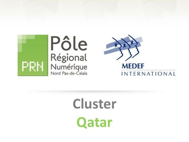 Cluster Qatar