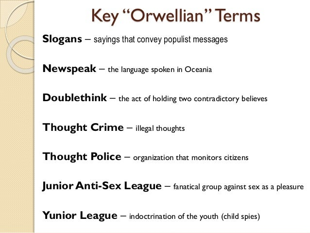 a comparison of the novels 1984 and animal farm by george orwell 1984 thoughtcrime does it matter that george orwell pinched the plot george orwell's nineteen eighty-four is a classic – but it owes its plot.