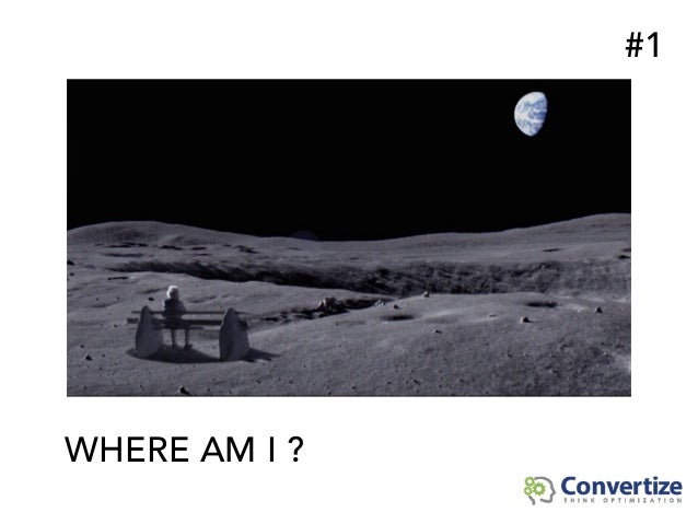 WHERE AM I ? #1