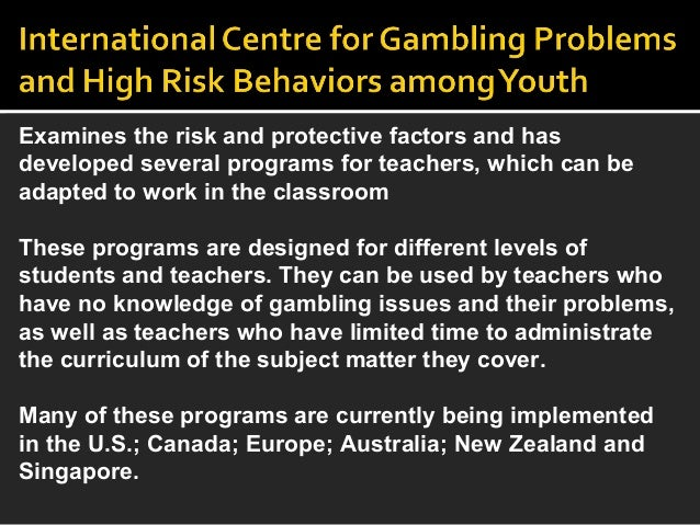 effects of pathological gambling