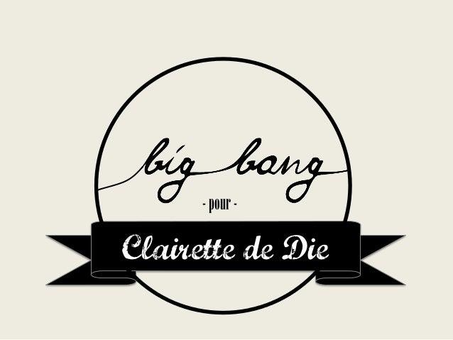 - pour -  Clairette de Die