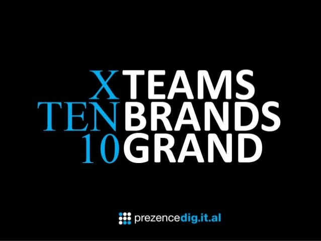 10TEAMS 10BRANDS 10DAYS 10GRANDC H A L L E N G E1.   Introduction by George Reed (CD)2.   The Challenge and Inspiration (C...