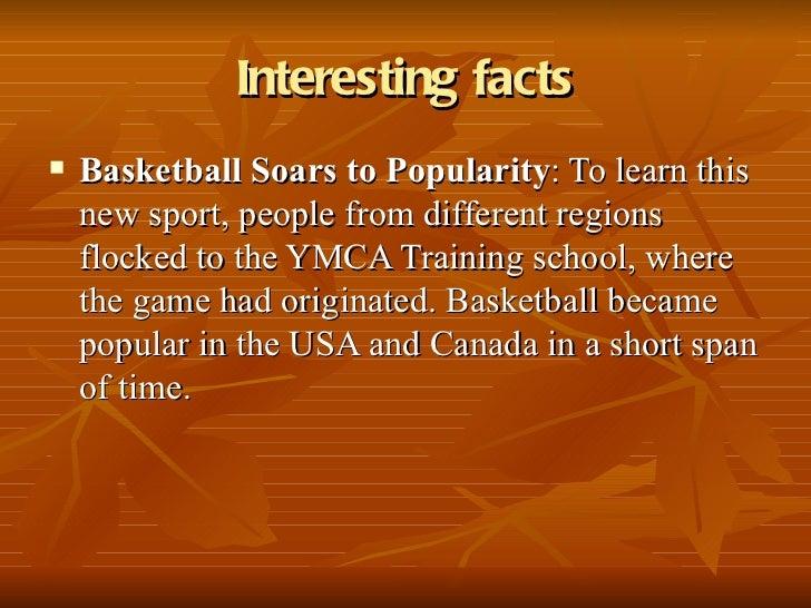 Ten fun facts about Basketball