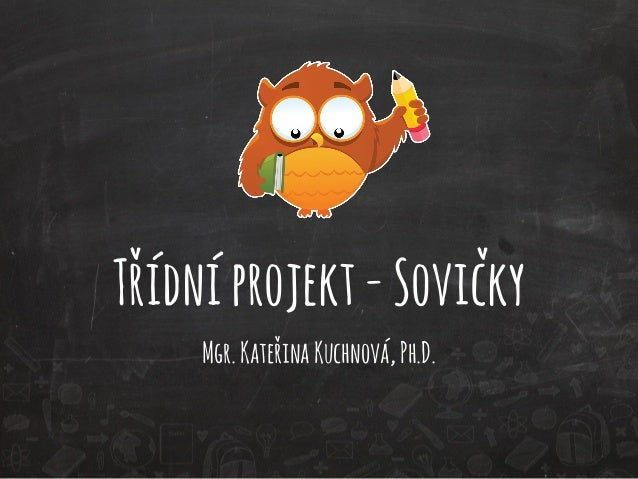 Třídní projekt - Sovičky  Mgr. Kateřina Kuchnová, Ph.D.