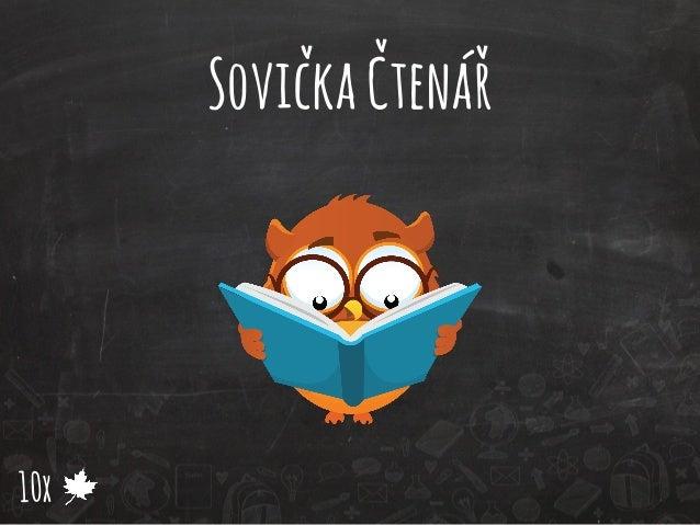 Sovička Čtenář  10x